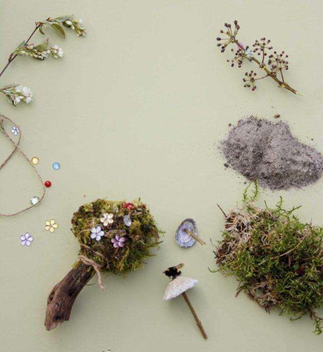 Kreativ med naturmaterialer